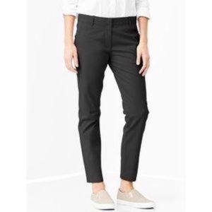 Skinny mini khaki by gap charcoal gray size 4